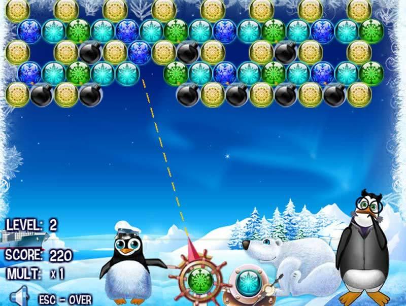 Пингвины флеш игра онлайн