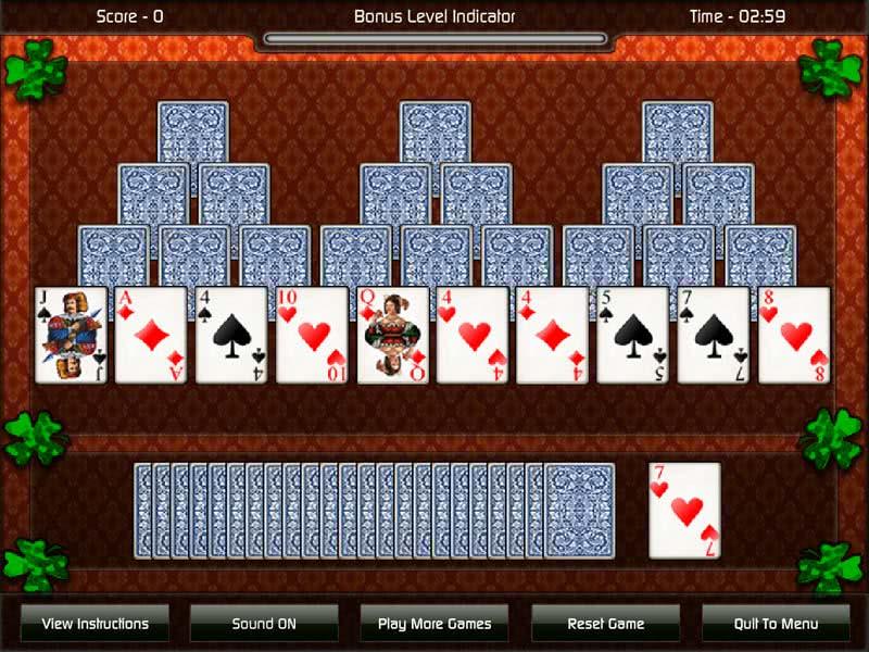 играть в карты три пика