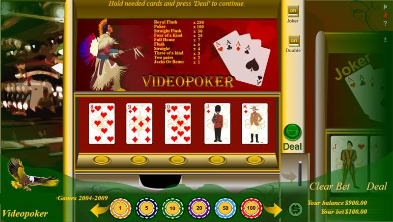 играть онлайн видео покер