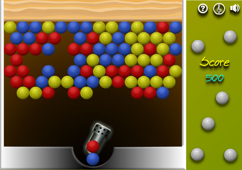 Разноцветные шарики играть онлайн о без регистрации