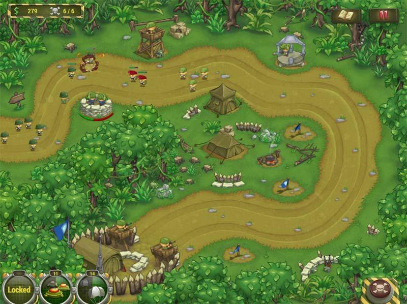 Играть война джунглей онлайн