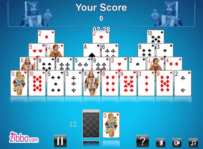 Игра в карты пирамида играть онлайн бесплатно музыка с рекламы казино вулкан