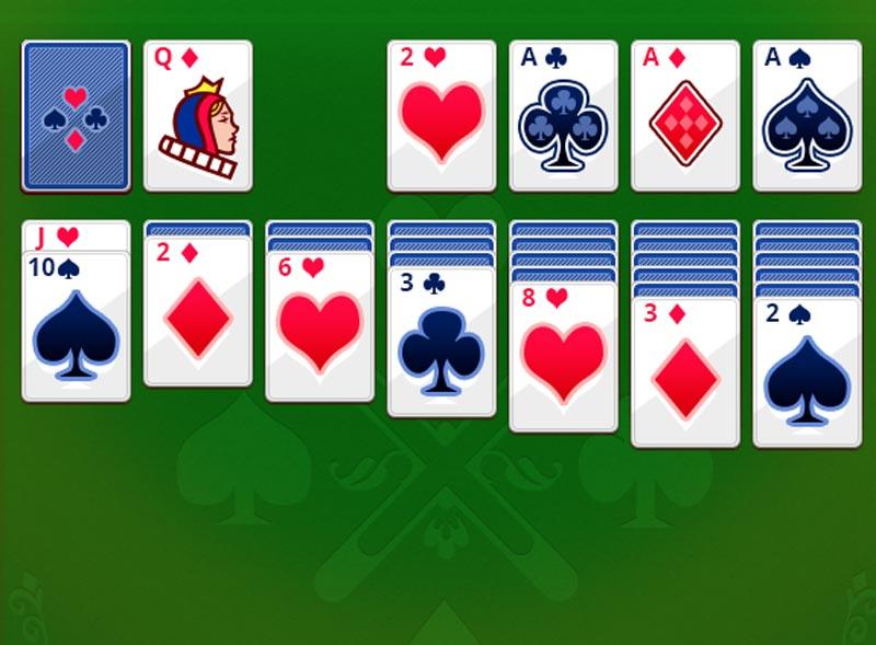 косынка 1 карта играть онлайн