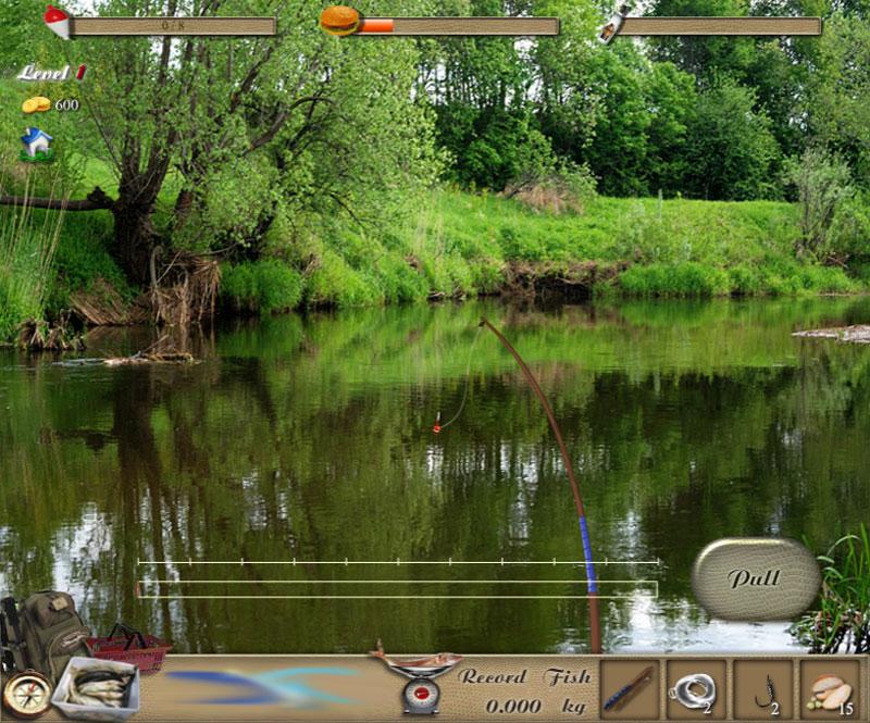 игра рыбалка рыбу