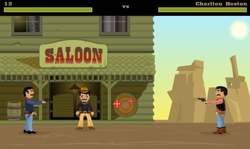 видео игра ковбой