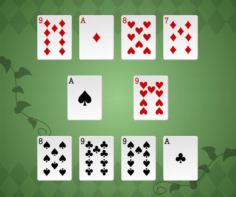 Как играть в игру в карты купить карты казино