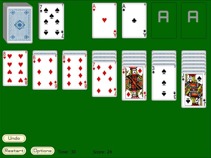 косынка играть в 3 карты