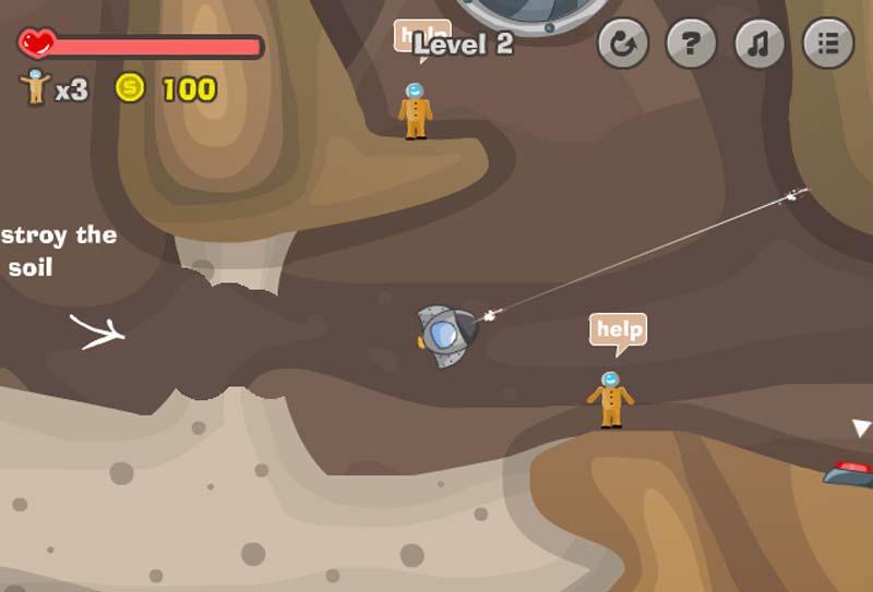 Игры под землей