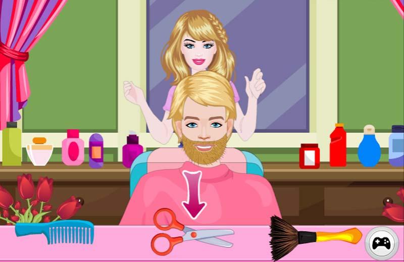 барби волосы игры Игры Барби - играть онлайн бесплатно