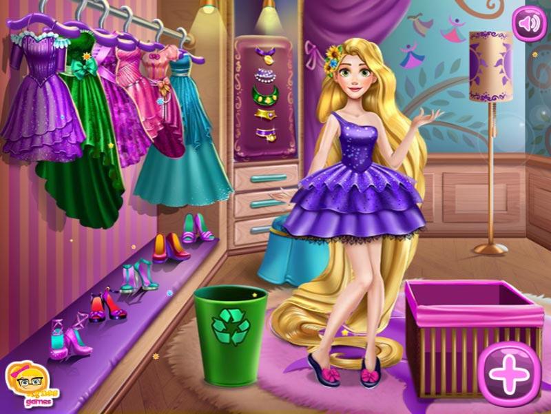 Игры для девочек одевалки уход за лицом