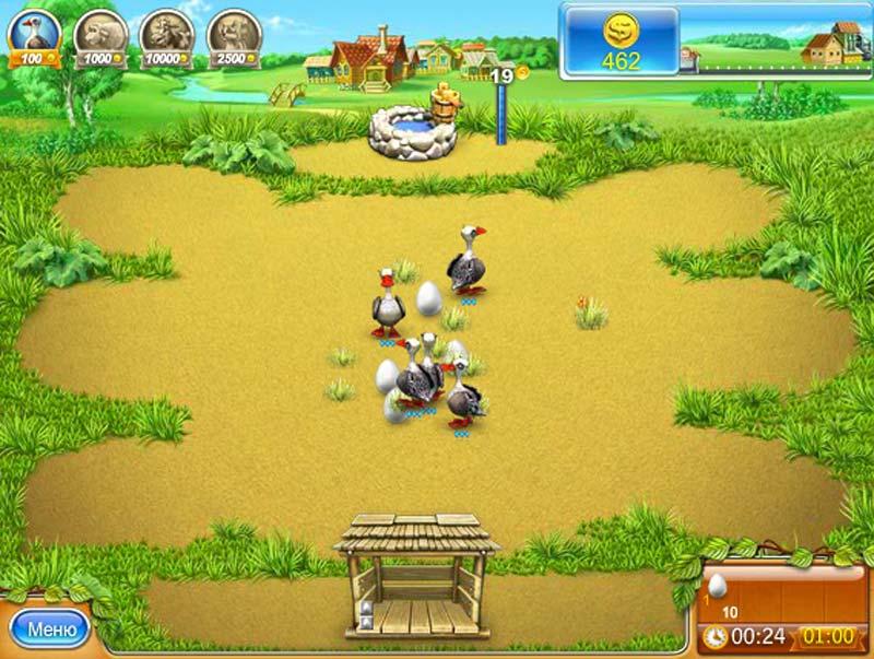 Онлайн играть веселая ферма 3 русская рулетка игровые автоматы горячие фрукты