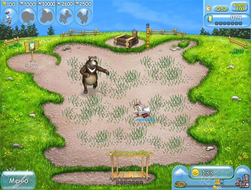 Игра онлайн большая ферма во весь экран