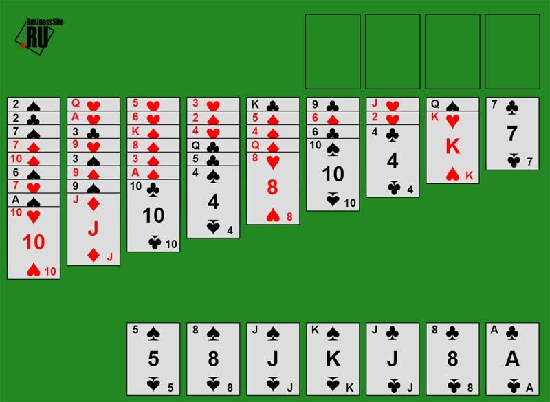 Игра карты косынка скачать бесплатно на компьютер
