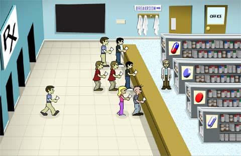 Бизнес игра про аптеку