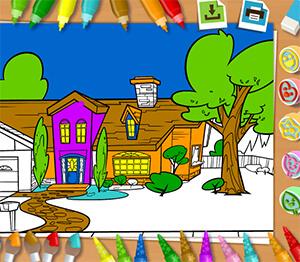раскраска для девочек играть онлайн бесплатно
